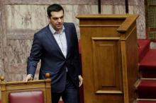 Le gouvernement d'Alexis Tsipras a transmis un premier jet de réformes à Bruxelles. Image: Archives/Keystone