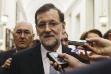 © Andrea Comas - Le Premier ministre espagnol Mariano Rajoy (PP).