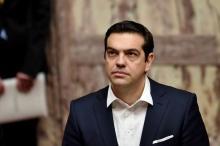 Le Premier ministre grec, Aléxis Tsípras, le 13 mars 2015 à Athènes. (Photo Aris Messinis. AFP)