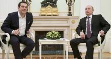 A Moscou, le Premier ministre grec Alexis Tsipras a obtenu des promesses de coopération économique mais, pour le moment, pas encore d'aides concrètes - Alexander Zemlianichenko/AFP
