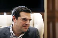 Le premier ministre grec Alexis Tsipras à Athènes, le 21 avril.