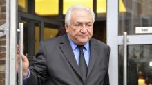 Dominique Strauss-Kahn suggère que «la Grèce ne reçoive plus aucun financement nouveau de la part de l'Union européenne comme du FMI mais qu'elle bénéficie d'une réduction nominale massive de sa dette à l'égard des institutions publiques Crédits photo : Michel Spingler/AP