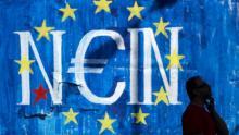 Le référendum proposé par le premier ministre grec Alexis Tsipras pour se sortir de l'impasse des négociations à Bruxelles est un coup de poker risqué Crédits photo : Petros Giannakouris/AP