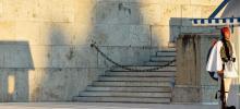 Le parlement grec, à Athènes. Crédits photo : ANDREAS SOLARO/AFP