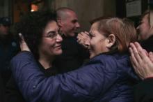 Nadia Valavani, ici en janvier dernier, jette l'éponge et quitte le gouvernement Tsipras. Image: Keystone