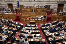 Un vote favorable du Parlement grec ne fait guère de doute dans la mesure où l'opposition s'est engagée à soutenir le gouvernement du premier ministre Alexis Tsipras. Image: AFP