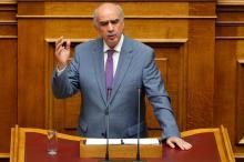 Evangelos Meimarakis, chef du parti Nouvelle démocratie, a renoncé à former un gouvernement. Image: Reuters