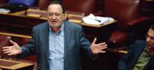 Panagiotis Lafazanis, l'ancien ministre de l'Énergie, a pris la tête du nouveau parti Unité populaire, créé avec la faction la plus à gauche de Syriza. Crédits photo : Yiannis Liakos/AP