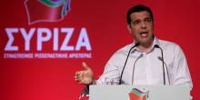 Alexis Tsipras est prêt à une alliance avec le Pasok. (Crédits : YIANNIS KOURTOGLOU)