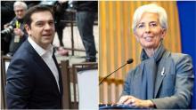 Entre la Grèce d'Alexis Tsipras et le FMI de Christine Lagarde, le torchon brûle.