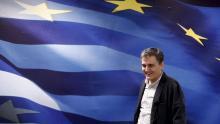 Euclid Tsakalotos, ministre des Finances grec. Crédits photo : ALKIS KONSTANTINIDIS/REUTERS