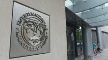 Le siège du Fonds monétaire international (FMI), à Washington D.C. (USA). Crédits photo : MANDEL NGAN/AFP