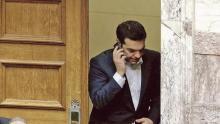 Dans l'entourage du premier ministre grec, le malaise est palpable. Crédits photo : Petros Karadjias/AP/SIPA/Petros Karadjias/AP/SIPA