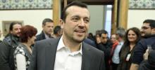 En lançant une réforme de l'audiovisuel privé, le ministre d'État Nikos Pappas s'est attiré les foudres de la presse et de l'opinion publique. Crédits photo : REX/SIPA
