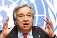 António Guterres Image: Keystone