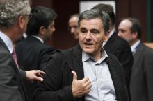 Avec quelques mois de retard, le ministre grec des Finances, Euclide Tsakalotosest parvenu à trouver un terrain d'accord avec les créanciers de son pays - Frederic Sierakowski / Is/SIPA