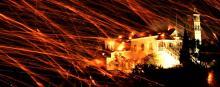 Célébrations de Pâques dans l'île de Chios. © YANNIS BEHRAKIS