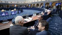 Échec des discussions entre le FMUI et la zone euro sur l'allègement de la dette grecque et le déblocage d'une nouvelle tranche d'aide.