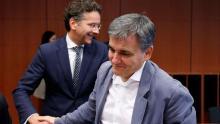 Euclide Tsakalotos, le ministre des Finances grec Crédits photo : Francois Lenoir/REUTERS