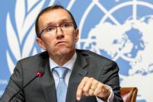 Espen Barth Eide, envoyé spécial de l'ONU aux négociations sur Chypre. Image: Keystone