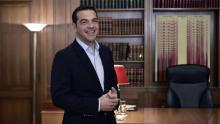 Alexis Tsipras, premier ministre grec. Crédits photo : LOUISA GOULIAMAKI/AFP