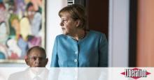 Angela Merkel et son ministre des Finances Wolfgang Schäuble à Berlin le 19 juillet.
