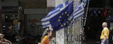 Une rue d'Athènes en juillet 2017. © Ayhan Mehmet/Anadolu Agency/Getty Images