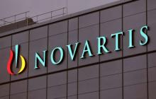 L'enseigne d'une usine Novartis en Suisse.