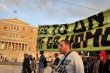 Le pays a été secoué par de nombreuses manifestations durant ces 8 ans d'austérité. Image: AFP