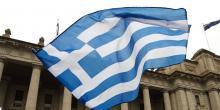 """La Grèce avait annoncé mercredi avoir pris des """"mesures"""" après une """"ingérence"""" de responsables russes dans le règlement de sa dispute avec la Macédoine@ THEO KARANIKOS / AFP"""
