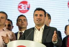 Le Premier ministre macédonien, Zoran Zaev, a promis de poursuivre la ratification de l'accord sur le changement de nom de son pays, bien que la participation au référendum n'ait pas atteint les 50% requis - Robert ATANASOVSKI/AFP