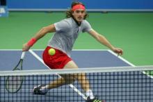 Stefanos Tsitsipas est en quarts de finale à Bâle. (Reuters)