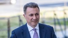 L'ex-Premier ministre macédonien Nikola Gruevski, le 5 octobre 2018 à Skopje, en Macédoine