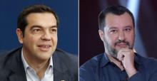Alexis Tsipras est bien placé pour donner des conseils à Matteo Salvini et à ses amis au pouvoir en Italie.