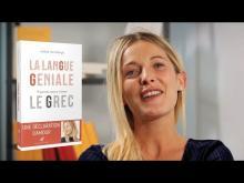 Andrea Marcolongo présente La Langue géniale - Éditions Les Belles Lettres
