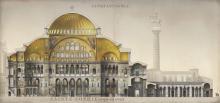 Hagia Sophia, essai de reconstitution. © Antoine Helbert