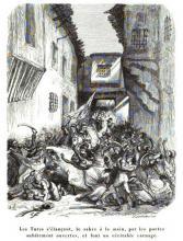 Les Turcs de Barberousse réprimant une contestation à Alger.