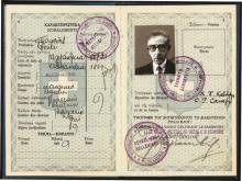 Passeport de Constantin Cavafy