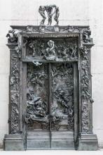 Rodin, « La porte de l'enfer », 1880 © Musée Rodin, Paris