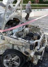 incendies voitures