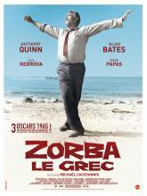 Affiche française du film Zorba le grec