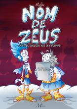 """Couverture de l'album """"Nom de Zeus"""""""