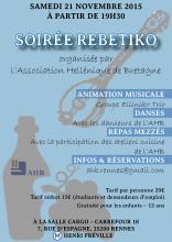 Soirée rebetiko à Rennes