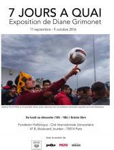 7 jours à quai, les migrants au port du Pirée vus par Diane Grimonet