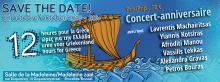 """Concert """"12 heures pour la Grèce"""""""