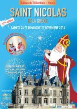 """Affiche des festivités """"Saint Nicolas et la Grèce"""""""