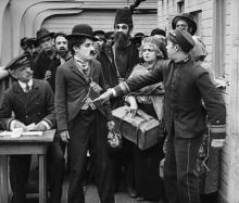 « L'Emigrant » de Charlie Chaplin