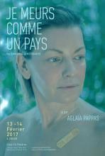 Je meurs comme un pays, lecture scénique par Aglaïa Pappas