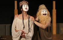 Antigone dans une mise en scène de Philippe Brunet