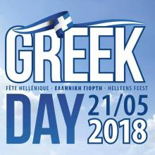 Greek Day 2018 à Enghien